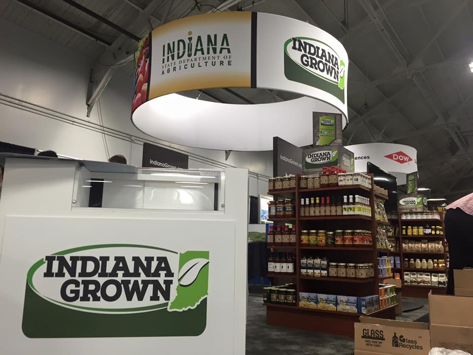 Sampling schedule at the Indiana State Fair
