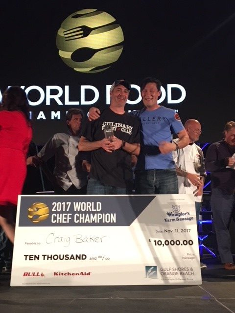 Members Advance in World Food Championships