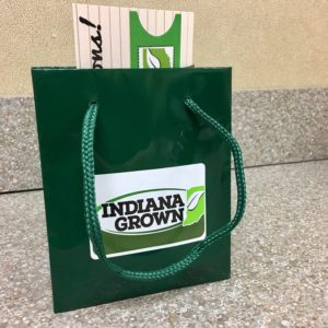 "Photo of ""Green Ticket"" prize for Indiana Grown Member Hunt"