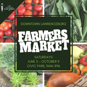 Five on Friday – Downtown Lawrenceburg Farmer's Market