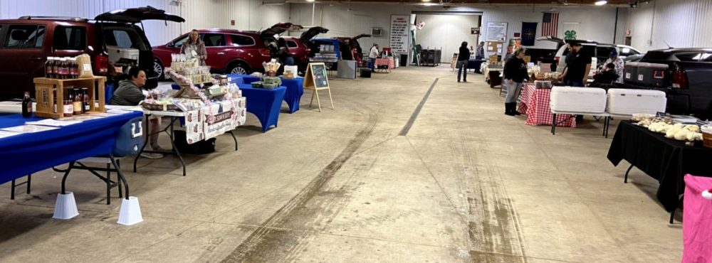 Farmers Market At The Fairgrounds